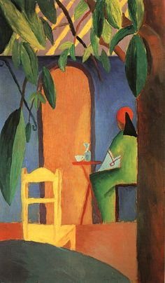 €150.00 l Painting by August Macke