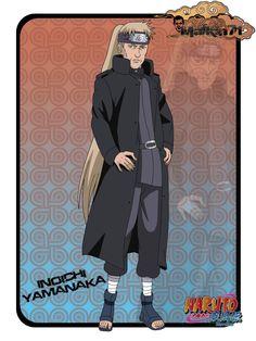 Inoichi from Naruto anime