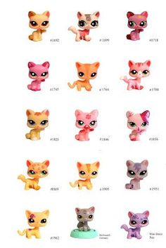 Nicole`s LPS blog - Littlest Pet Shop: Pets: Cat shorthair