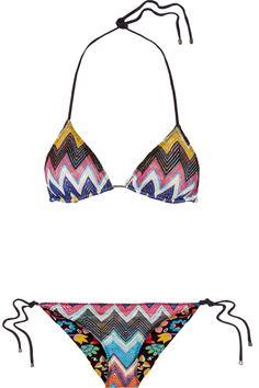 Missoni   Bikini dos-nu en crochet métallisé réversible Mare   NET-A-PORTER.COM