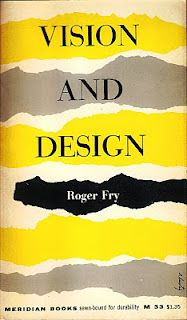 Roger Fry, Visions And Design  Cover by Alvin Lustig