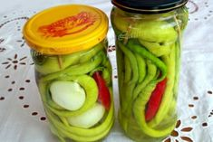 Canning Pickles, International Recipes, Celery, Cucumber, Food And Drink, Cooking Recipes, Vegetables, Drinks, Boss