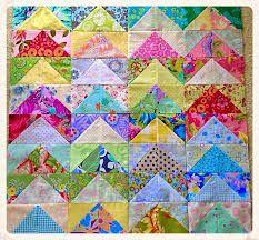 Resultado de imagen para Grandmother's flower quilt with yo yo center