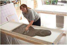 DIY Concrete Countertops & a kitchen update » Run To Radiance