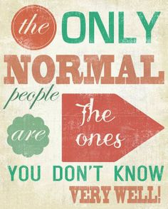 The Only Normal People