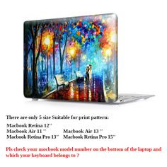 Nature Oil Painting Transparent Crystal For Apple Mac Macbook Pro 15 Case Cover Macbook Pro 13 15 Inch With Retina Display A1502-in Laptop Bags & Cases from Computer & Office on Aliexpress.com | Alibaba Group