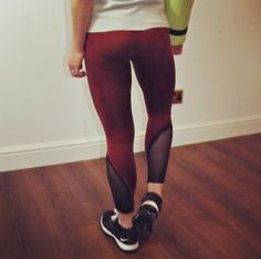 Sunset gym and yoga leggings - squat proof, non see through, comfortable and durable! Yoga Leggings, Squats, Gym, Sunset, Pants, Fashion, Trouser Pants, Moda, La Mode