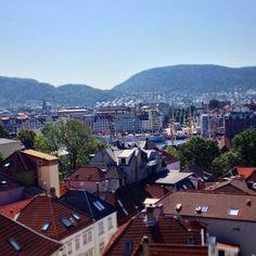 Welcome home Statsraad #Lehmkuhl! #tsrb2014 #tallships #Bergen #summer #Norway