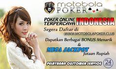 Motobolapoker sebagai Agen Judi Online menyediakan Cara Main Domino Online dengan mudah dengan modal minimal 10rb dan bonus jackpot hingga jutaan rupiah.