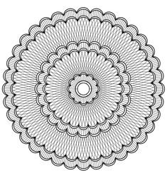 Free coloring page «coloring-mandala-adult-a-imprimer». 5 concentric forms that look like flowers, with lines intercroisant ... the final result is an adult mandala free to color, very difficult, to print for at least an hour of relaxation!