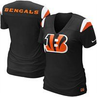 Nike Cincinnati Bengals Ladies Fashion Football Premium T-Shirt