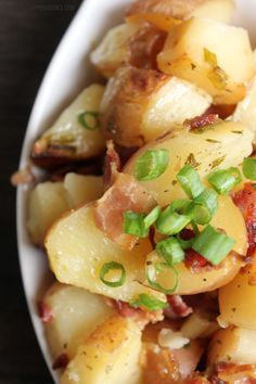 These easy crock pot ranch potatoes are the perfect compliment to any meal! SO easy to throw together and so dang good!