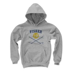 Mike Fisher Sticks B Nashville Officially Licensed NHLPA Youth Hoodie S-XL