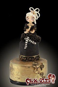 Lady Etoile - by ChokoLate @ CakesDecor.com - cake decorating website