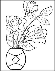 free happy valentine rose heart coloring pages for adults   free ... - Printable Coloring Pages Roses