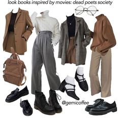 Mode Outfits, Retro Outfits, Cute Casual Outfits, Vintage Outfits, Fashion Outfits, Fashion Tips, Aesthetic Fashion, Aesthetic Clothes, Aesthetic Outfit