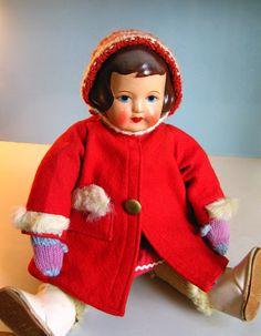 Finnish doll; no marks