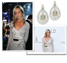Socialite, Lady Victoria Hervey wore earrings by Vahan Jewelry at amfAR's 20th Annual Cinema Against AIDS during The 66th Annual Cannes Film Festival at Hotel du Cap-Eden-Roc in Cap d'Antibes, France. 42793D by Vahan Jewelry #VahanCelebs