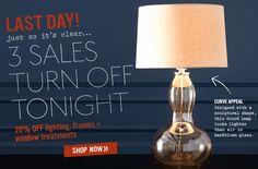 Doe het licht aan! Deze subtiele animatie van een lamp die uit en aan gaat brengt de e-mailcampagne tot leven. Meer voorbeelden: http://www.exacttarget.com/blog/using-animated-gifs-in-email/