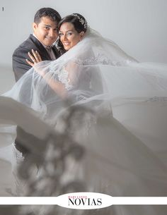 Katherine Canido y José Elías Eguez Foto: Luis Arnez - Creación #RevistaMaryLizzieNovias #GaleriaNupcial #SiQuiero