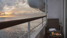 Veranda Suite. Silversea Cruises.