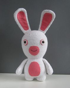 Amigurumi Bunny Rabbit - FREE Crochet Pattern and Tutorial