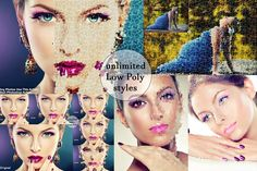Bundle20% unlimited  Low Poly Action by koku Studio on Creative Market