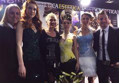 Recogidos en STS Beauty Barcelona con Estetica Modacabello | Sabariz Hairtist