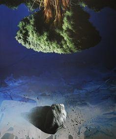 Titolo: Altrove 2 - cm 120x110 - 2011 Ossola Raffaello