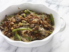 Your green bean & mushroom casserole gets a makeover in this updated holiday classic recipe.