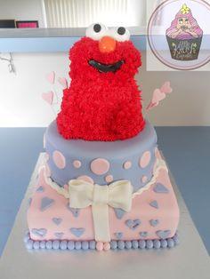 Elmo cake @ https://www.facebook.com/pages/Little-Krush-Cupcakes-NZ/485728288124195