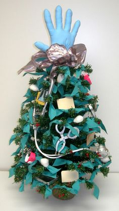 Medical Theme Christmas Tree | Good To D'Cor, Inc. - Christmas 1