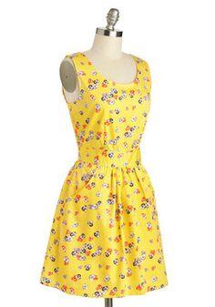Porch Picnic Dress, #ModCloth