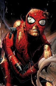 ✧ Marvel Comics: Spiderman - Avengers vs X-Men Marvel Vs, Hero Marvel, Marvel Comics Art, Bd Comics, Anime Comics, Comic Book Characters, Comic Book Heroes, Marvel Characters, Comic Books Art