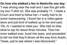 this is my idol and this is just one of the thousands of reasons I adore her