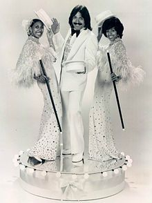 """Tony Orlando and Dawn. I remember my sisters playing the record """"Tie a Yellow Ribbon Round the Ole Oak Tree."""" One of my earliest musical memories. No wonder I have crap taste in music..."""
