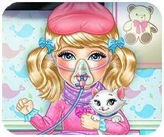 Game chăm sóc em bé bị cảm cúm