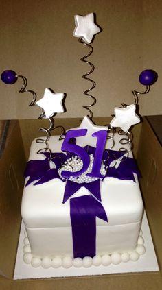 exploding gift box cake! by incrediBundts & More!