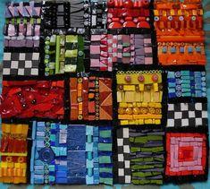 tableau en mosaque marrachech smats verre albertini perles millefioris - Idees Mosaiques Image