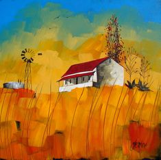 Artwork of Glendine exhibited at Robertson Art Gallery. Original art of more than 60 top South African Artists - Since Art And Illustration, Illustrations, Landscape Artwork, Abstract Landscape, Landscape Design, Kitsch, South African Art, Internet Art, African Artists