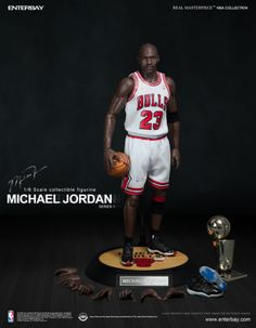 """Michael Jordan #23 13"""" Collectible Action Figure @inallairness just a lazy $295......"""