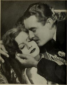 Greta Garbo and John Gilbert