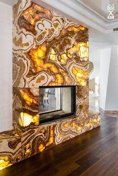 #fireplace #onyx #камин #оникс
