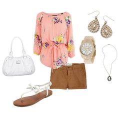 little summer outfit :) created by akelley12