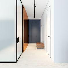 FontanB is a minimal interior located in Kiev, Ukraine, designed by Emil Dervish.