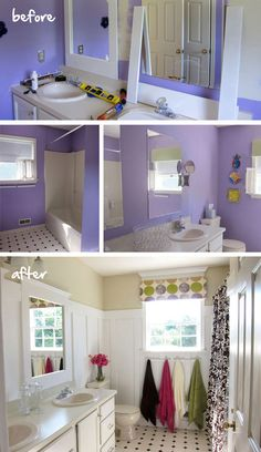 The magic of paint!  It can transform a room dramatically.