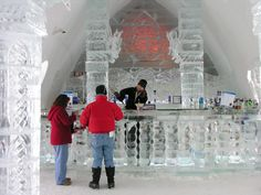 Image detail for -Quebec's Ice Hotel