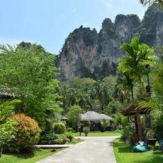 タイのクラビでジャングルリゾート。 A jungle resort at Krabi in Thailand! (2018.10.6) #thailand #jungle #resort #krabi #travel #jungleland #resortwear…