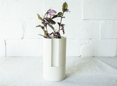 Ceramic Self-Watering Planter — ACCESSORIES -- Better Living Through Design