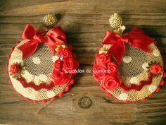 Cucadas de Connina Spanish Dress, Burlap Wreath, Jewlery, Baby Shoes, Christmas Ornaments, Sewing, Holiday Decor, Fabric, Kids